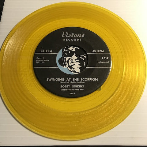 Bobby Jenkins - Swingin At The Scorpion pt.1 b/w pt.2 - Vistone #2017 - R&B Mod - Colored Vinyl