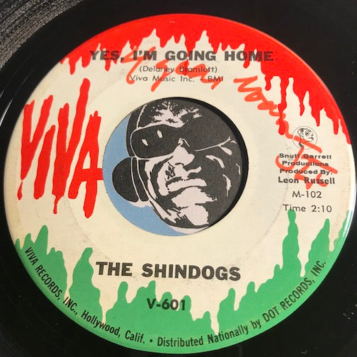 Shindogs - Yes I'm Going Home b/w Who Do You Think You Are - Viva #601 - Garage Rock