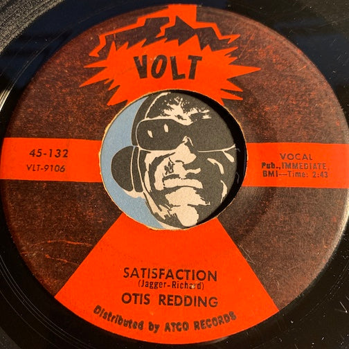 Otis Redding - Satisfaction  b/w Any Ole Way - Volt 132 - R&B Soul