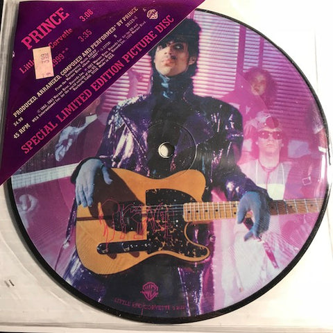 Prince - Little Red Corvette b/w 1999 - WB #20129 - Colored vinyl - 80's