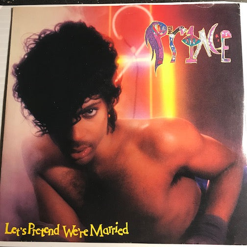 Prince - Let's Pretend We're Married b/w Irresistible Bitch - WB #29548 - 80's