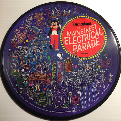 Disneyland Main Street Electrical Parade - Electric Fanfare b/w Boo Bop BopBop Bop (I Love You) - Disneyland #WD-4 - Children's / Colored Vinyl