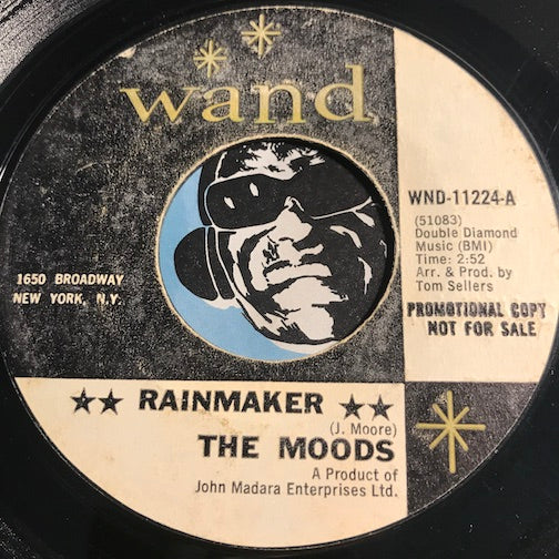 Moods - Rainmaker b/w Lady Rain - Wand #11224 - Northern Soul - Sweet Soul