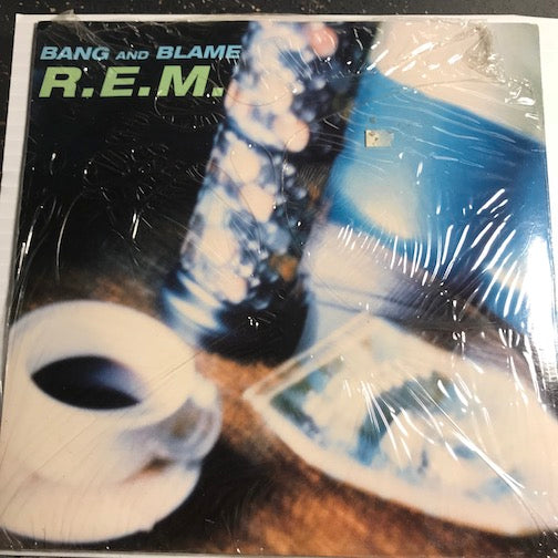 R.E.M. - Bang And Blame (album version) b/w K Version - Warner Bros #17994 - Rock n Roll
