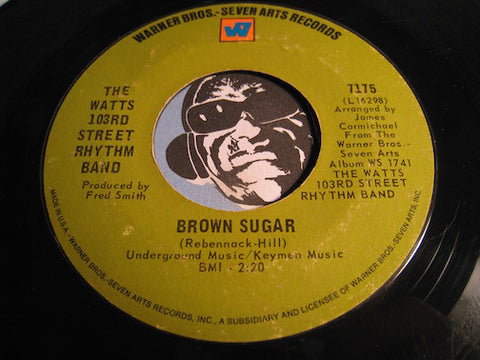 Watts 103rd Street Rhythm Band - Brown Sugar b/w Caesar's Palace - Warner Bros #7175 - Northern Soul