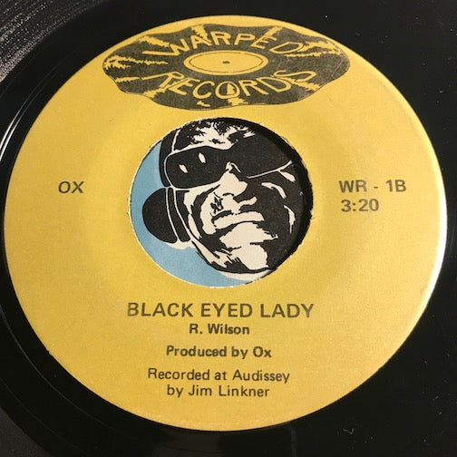 Ox - Gotta Be Willing To Lose b/w Black Eyed Lady - Warped #1 - Rock n Roll - Funk