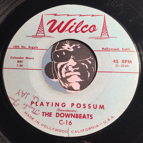 Downbeats - Playing Possum b/w One At A Time - Wilco #16 - Rock n Roll