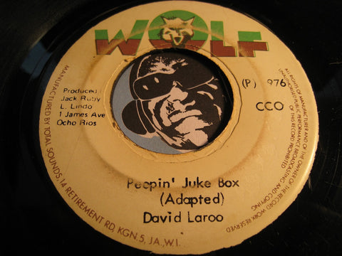 Black Disciples / David Laroo - Juke Box b/w Peepin Juke Box (adapted) - Wolf no # - Reggae