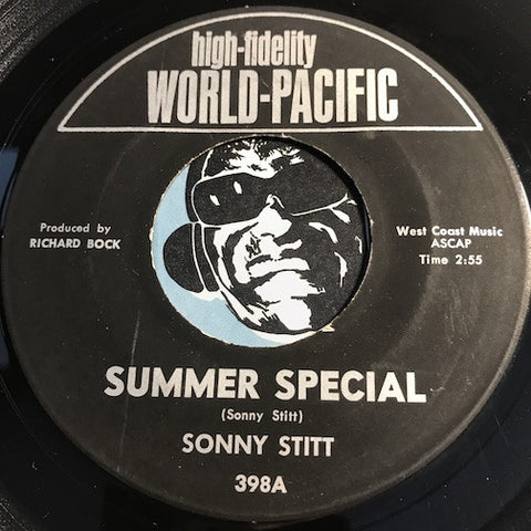 Sonny Stitt - Summer Special b/w My Mother's Eyes - World Pacific #398 - Jazz