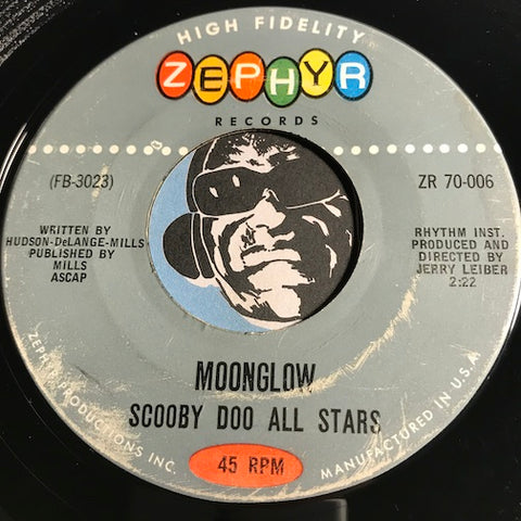 Scooby Doo All Stars - Moonglow b/w Ernie's Journey - Zephyr #70-006 - R&B Instrumental - Jazz