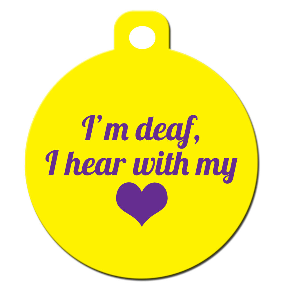 I'm Deaf I Hear With My Heart