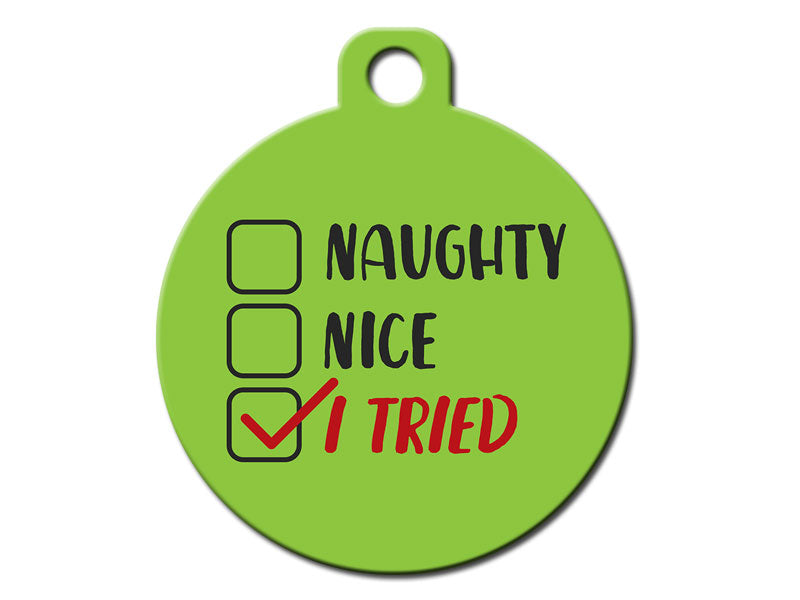 Naughty Nice I Tried Christmas