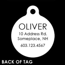 Load image into Gallery viewer, Reindeer Pet ID Tag