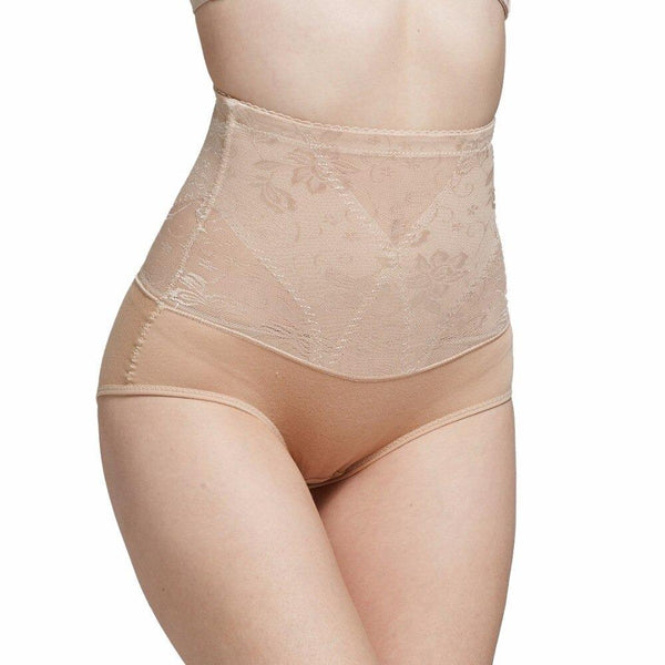Gaine Dentelle Flowers Ventre Plat - Bodyotop.fr31205