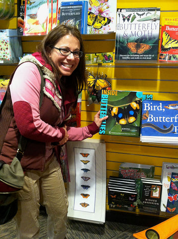Excitement upon discovering my book at the New York Aquarium gift shop!