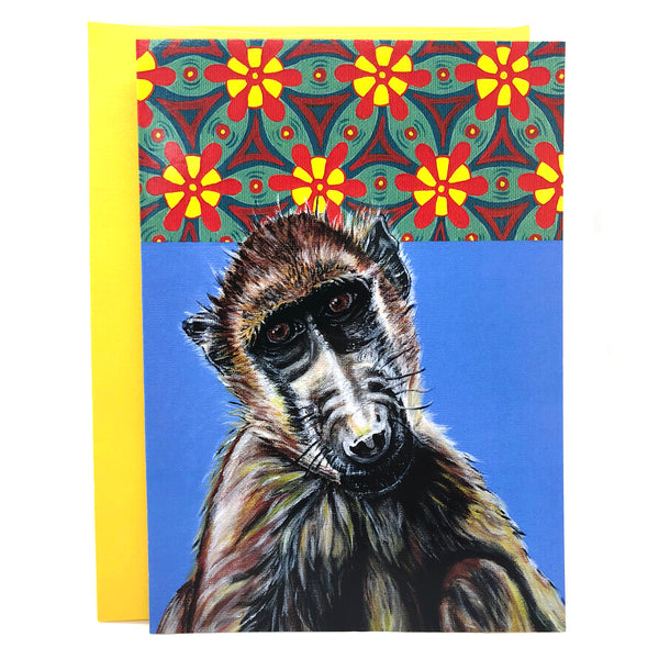 African Animal Greeting Cards - Pack of 4