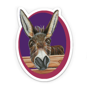 Donkey Sticker -Jimbob
