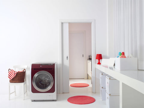 Wash your pillow, laundry room