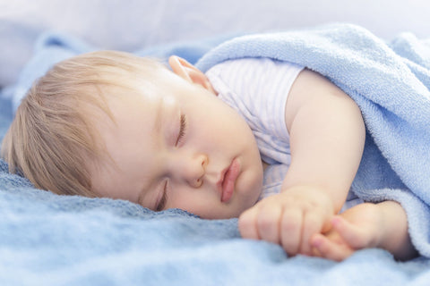 How much sleep is essential for an infant, sleeping baby