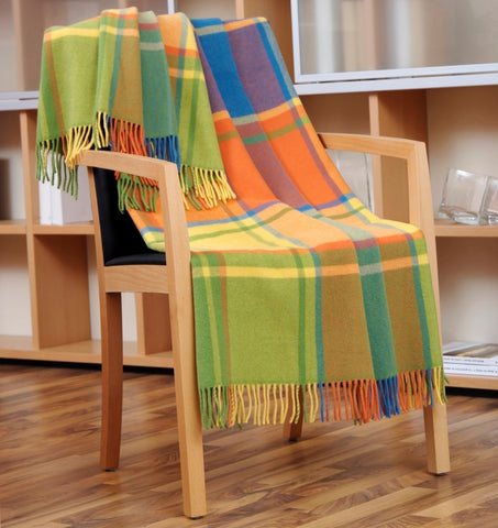 throw blanket on chair