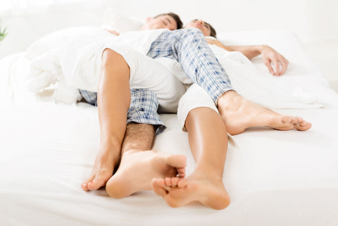 How To Improve Circulation in Legs While Sleeping