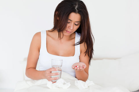 Take Anti-Inflammatory Tablets when sleeping with a cold