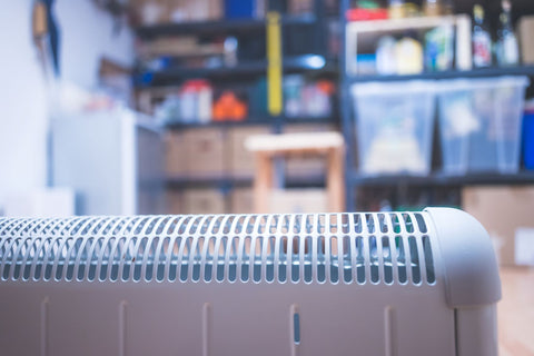 basement temperature controlled for mattress storage