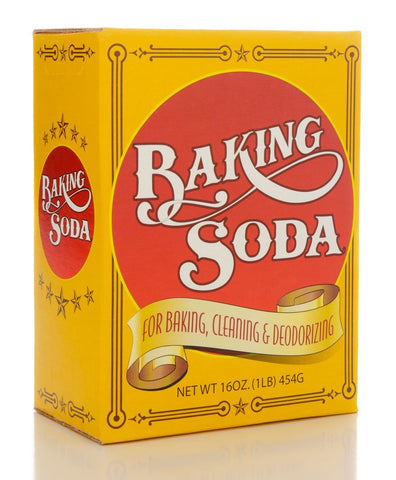 Baking soda as stain remover for pillows
