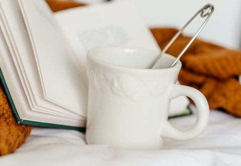 How to fall asleep faster, drink something warm, read a book