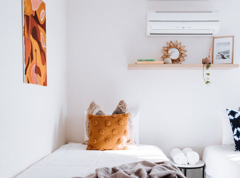 Best AC temperature for sleeping, air conditioning unit in bedroom