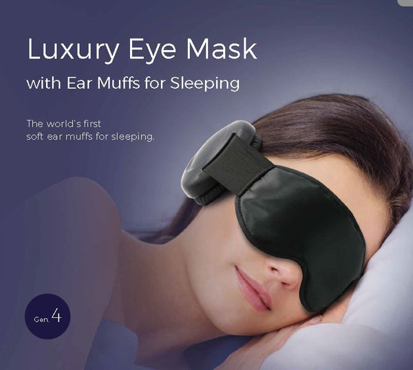The all-new Generation 4 2016 Hibermate Sleep Mask with Ear Muffs - Kickstarter Green