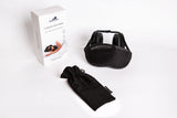 hibermate sleep mask - noise cancelling sleep mask - product shot showing ear covers that block sound and noise