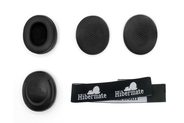 All-New Hibermate Headband with Ear Muffs for bed, meditiation, airplanes, autism & more - Free Shipping