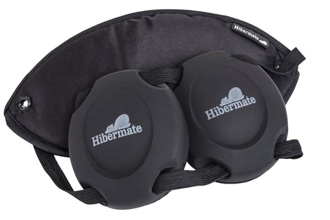Pitch Black Hibermate Sleep Mask - Generation 2 - Retro!