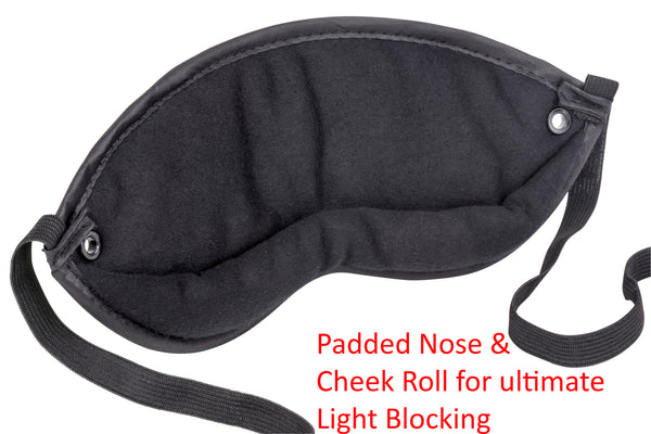 The All-New 2020 Gen 6.5 Hibermate Sleep Mask with Sleeping Ear Muffs - Dark Navy