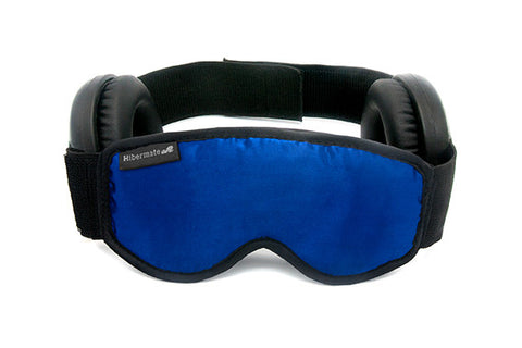 The all-new Generation 4 2016 Hibermate Sleep Mask with Ear Muffs - Dark Navy