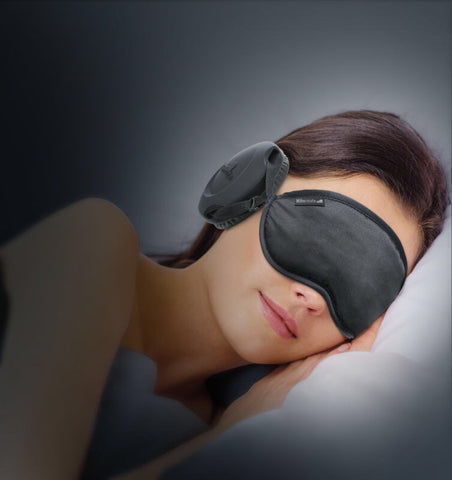 The All-New 2017 Gen 5. Hibermate Sleep Mask with Sleeping Ear Muffs - Pitch Black