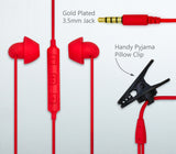 All New Hibermate Sleep Ear Buds (Red) - Premium Sound Isloating Sleeping Headphones to Block Noise and Sleep Better