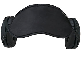 The All-New 2020 Gen 6.5 Hibermate Sleep Mask with Sleeping Ear Muffs - Pitch Black