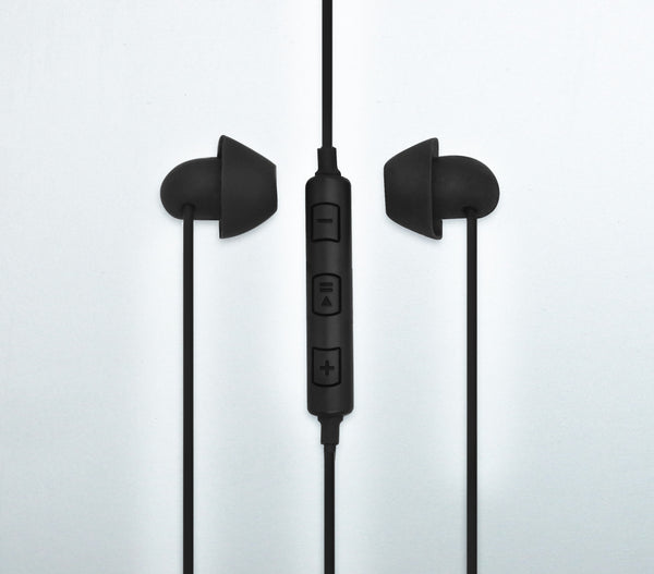 All New Hibermate Sleep Ear Buds (Black) - Premium Sound Isloating Sleeping Headphones to Block Noise and Sleep Better