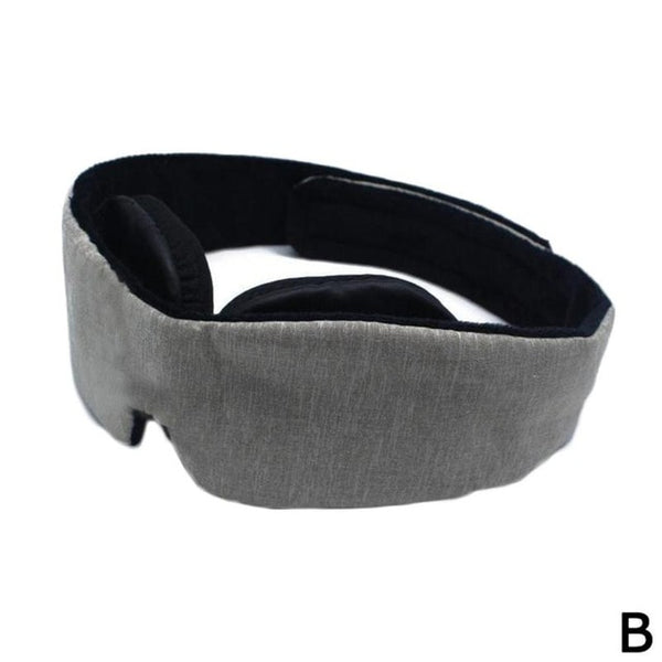 3D Eyeshade Sleep Mask Memory Foam Breathable Padded Shade Cover Travel Sleeping Eye Mask Adjustable Sleeping Blindfold Tools
