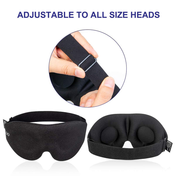 Eye mask for Sleeping 3D Contoured Blindfold