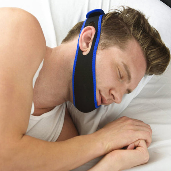 Snore-reduction Chin Strap for Sleep Apnea & as an Anti-Snoring Aid