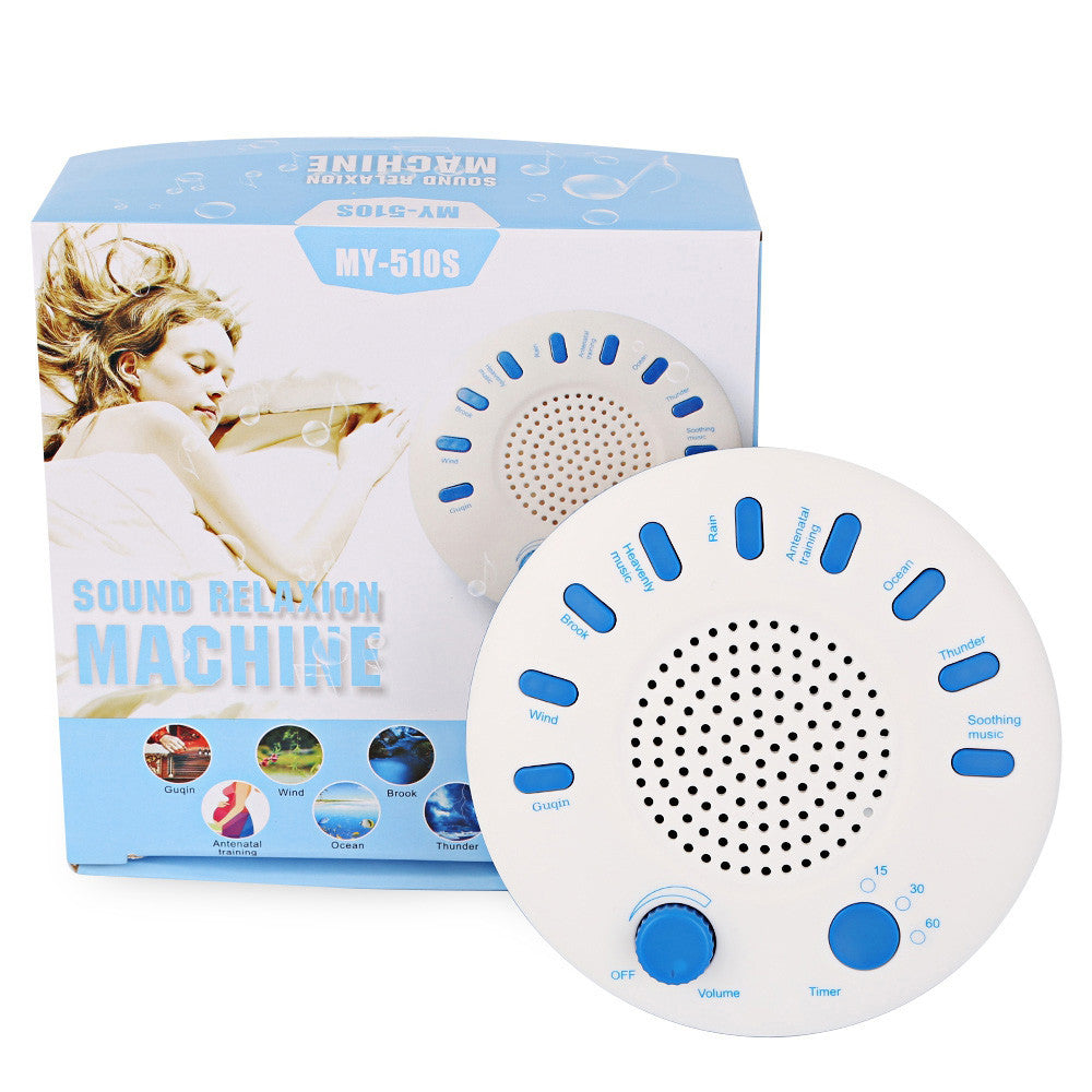 White Noise Sound Machine for Sleeping - Portable, Great for Travel or Home - Perfect for Adults and Kids