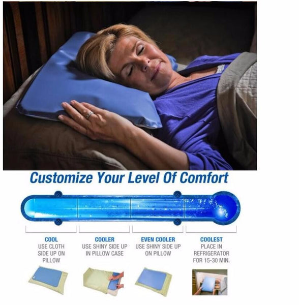 New! Gel Cooling Pillow Pad for great night's sleep! Use it on your feet too!