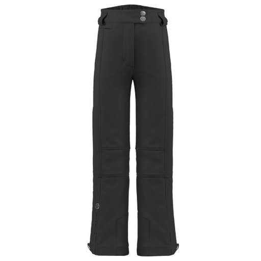 Kids W19 0820 Junior Girls Stretch Ski Pants - Poivre Blanc - Poivre Blanc