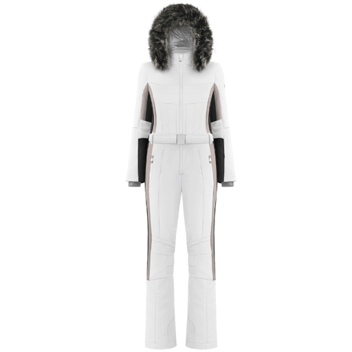 Ladies W19 0830 Womans /A Stretch Overall - Poivre Blanc - Poivre Blanc