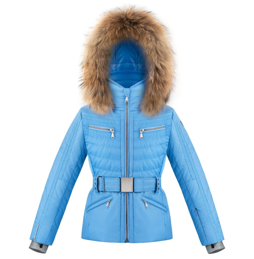 Belted Ski Jacket W20-1002-Junior Girls /A - 279583 - Poivre Blanc - Poivre Blanc