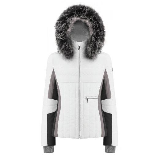Ladies W19 1002 Womans /A Ski Jacket - Poivre Blanc - Poivre Blanc