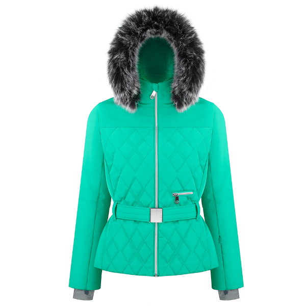 Ladies W19 1003 Womans /A Ski Jacket - Poivre Blanc - Poivre Blanc